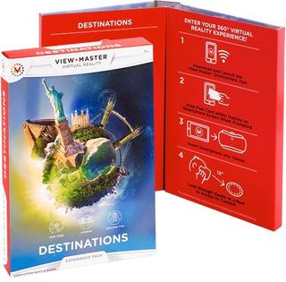 View Master Destinations 3 Disc New York London Chichen Itza