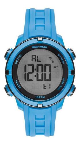 Relógio Masculino Mormaii Acqua Azul - Original