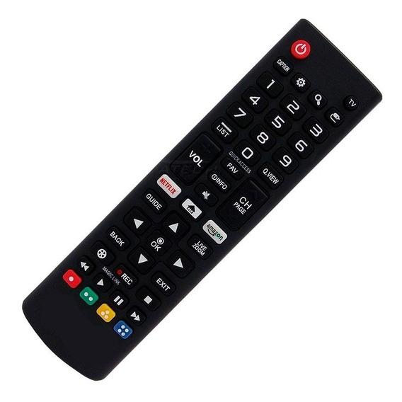 10 Controle Tv LG Netflix Akb75095315 Akb75455401 Atacadoooo
