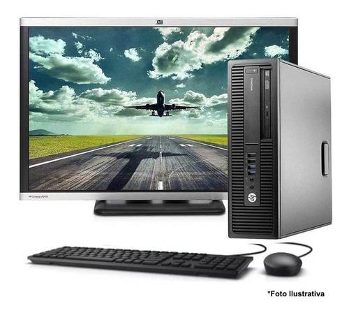 Computador Hp 800 G2 Core I5 6ªg 4gb 320gb + Monitor 22