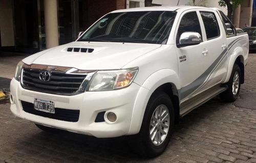 Toyota Hilux 3.0 Doble Cabina 4 X 4 Tdi 2013 - Primera Mano