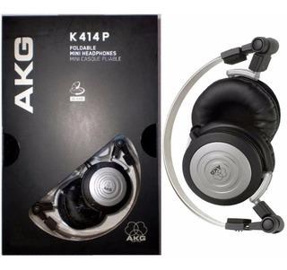 Fone De Ouvido Akg K 414 Profissional Headphone Musico Banda
