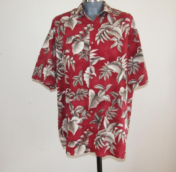 Hollis River Camisa Hawaiiana Talla 2 Xlt