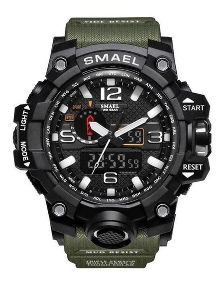 Relógio Smael Masculino Militar Esportivo Digital Mod-1545