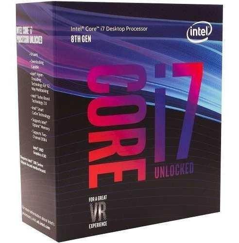 Processador Intel Coffeelake I7-8700k 4,7ghz 12mb Lga1151 8g