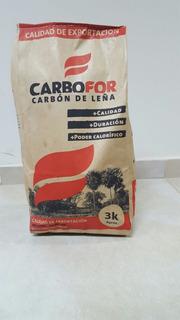 Carbon Vegetal A Granel Y Embolsado