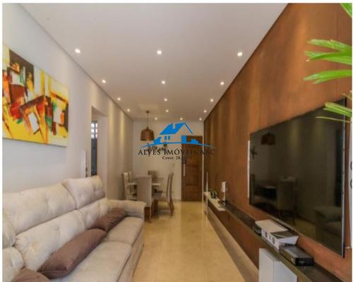 Apartamento Mobiliado, 100m², Quintal Privativo Com Churrasqueira E Gabinete, 2 Dormitórios Com Armários E Porcelanato, 1 Banheiro 1 Lavabo - Ap01366 - 69353491