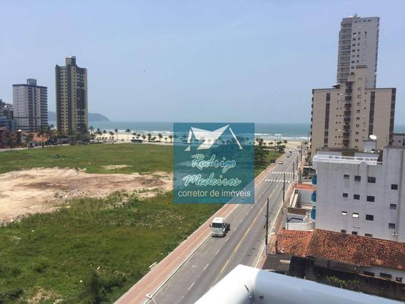 Apartamento Com 2 Dormitórios À Venda, 94 M² Por R$ 393.000 - Vila Guilhermina - Praia Grande/sp - Ap0175