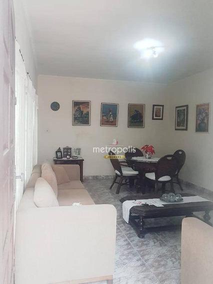 Casa Com 3 Dormitórios À Venda, 160 M² Por R$ 720.000 - Jardim São Caetano - São Caetano Do Sul/sp - Ca0474