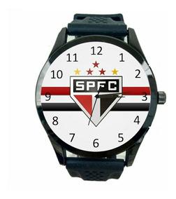São Paulo Relógio Masculino Promoção Oferta Novo Time T603