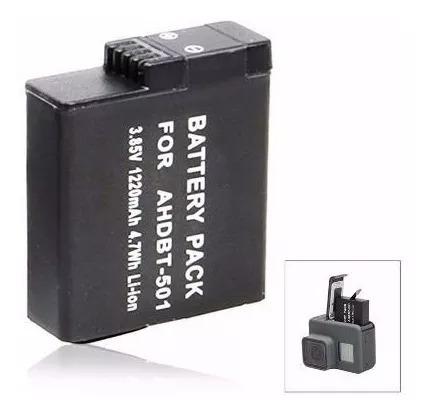 Bateria Recarregável Para Go Pro Hero 5 Black Ahdbt-501