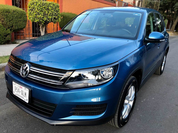 Volkswagen Tiguan 1.4 Turbo Trendline Seminueva Automatica