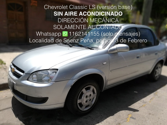 Chevrolet Classic 1.4 Ls Base Sin Aire
