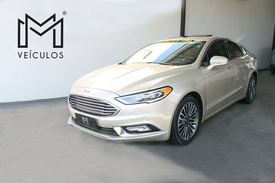 Ford Fusion Titanium 2.0 Dourado 2018