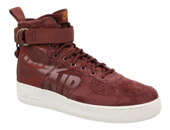 Tenis Homens Nike Sf Air Force 1 Mid