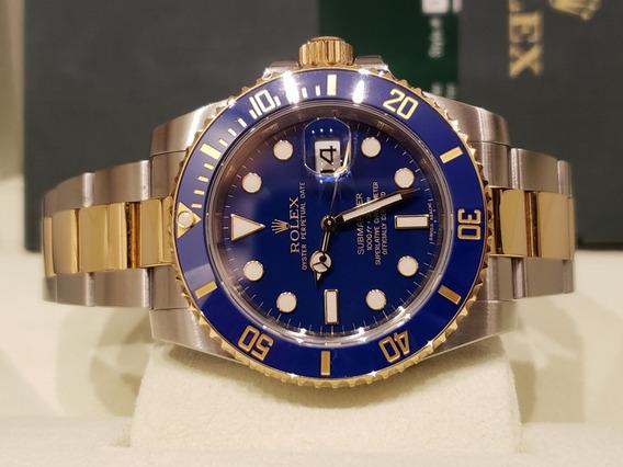 Rolex Submariner Ouro E Aço