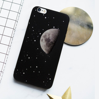 Funda iPhone 6/6plus/7/7plus/8/s8/s8plus Luna Relieve Nueva