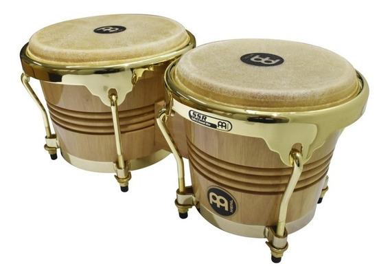 Bongo Meinl 4&8 Wood Gold Oferta Nuevos De Paquete ¡¡