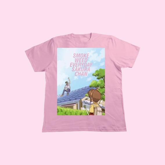Camisa Masculina Sakura Chan [leia A Descrição]