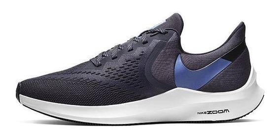 Zapatillas Nike Zoom Winflo 6 Hombre Running Aq7497-009