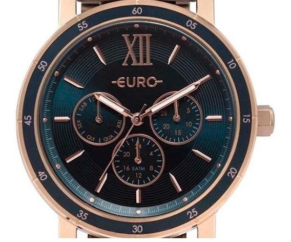 Relógio Feminino Euro Rose Eu6p29ahh/4a