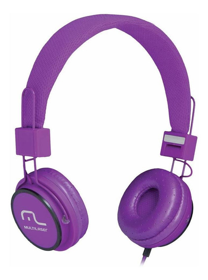Fone De Ouvido Headphone Fun, Multilaser, Ph090, Roxo