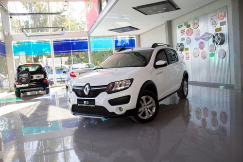 Renault Sandero Stepway Privillege Nav Nafta 2016 Blanco