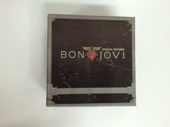 Box Com 11 Cds + 1 Dvd Bon Jovi - Special Edition
