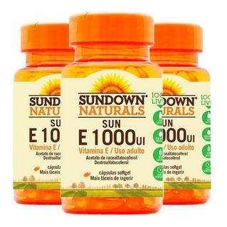 Vitamina E 1000 Ui - 3x 50 Cápsulas - Sundown
