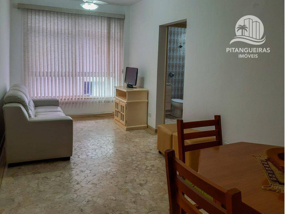 Pitangueiras - Boa Localização - Fácil Acesso - Prédio Com Churrasqueira - 01 Vaga De Garagem. - Ap5090