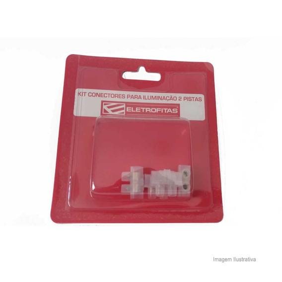 Kit De Conectores 1 Saída Para Fitas Elétricas 4 Unidades Vermelho Eletrofita Eletrofita