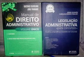 Manual De Direito Administrativo + Leg. Adm. Comentada