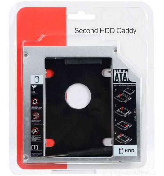 Gaveta Adaptadora Para Hd Segundo Hdd Ssd Caddy Case 9.5mm