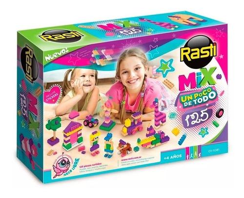 Rasti Mix 125 Nenas Piezas Ladrillos Bloques