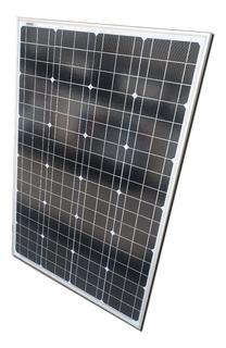 Panel Solar Fotovoltaico Monocristalino 100w 12v Asanno 2n