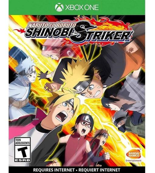 Jogo Mídia Física Naruto To Boruto Shinobi Striker Xbox One
