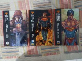 Hq Super Man Terra 1, Vol 1, 2 E 3