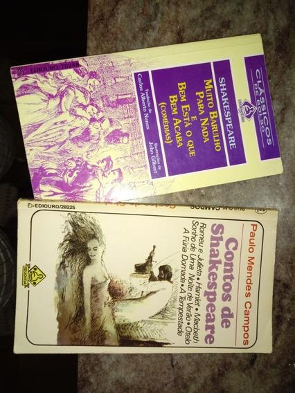 Livro Clássicos De Bolso Shakespeare (kit Com 2livros)