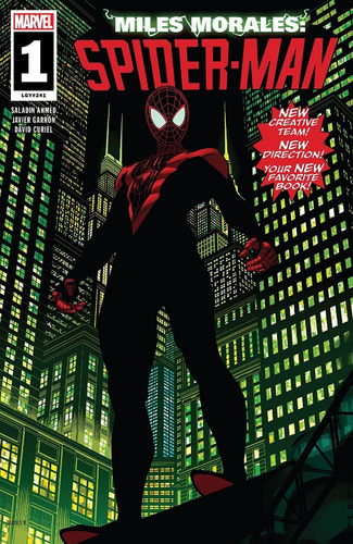Miles Morales Spider-man #1 (2018) Lgy#241 Marvel