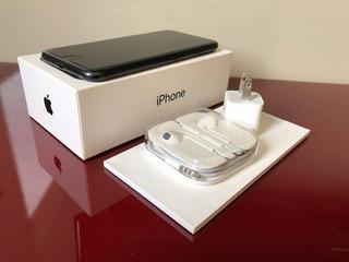 iPhone 7 - 128 Gb - Preto Fosco - Todos Os Acessórios