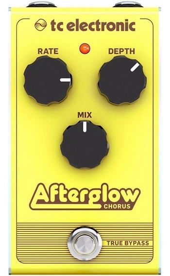 Pedal De Guitarra Tc Electronic Afterglow Chorus