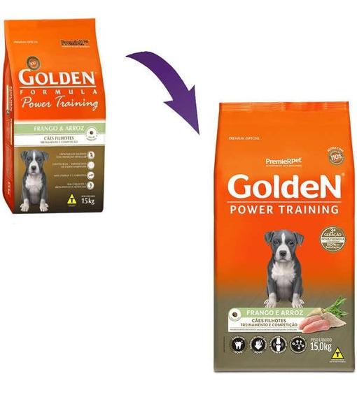 Ração Premier Golden Cães Filhotes Sabor Frango & Arroz