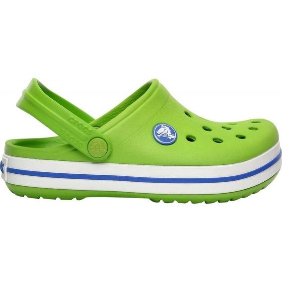 Crocband Crocs Suecos Unisex Verdes - Originales -