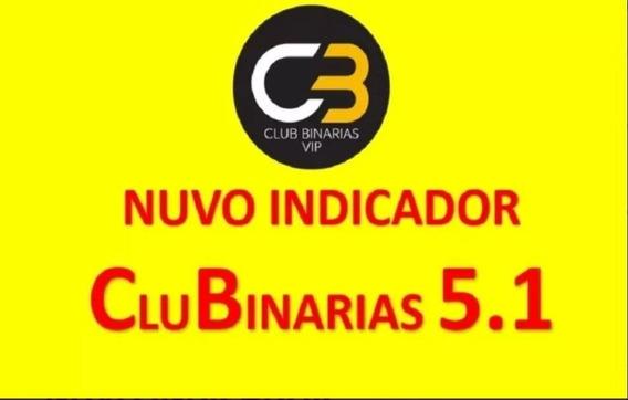 Indicador Clubinarias 5.1 Atualizado Com Filtro Noticia(agosto 2019) Com Planilha De Gerenciamento + Curso Gabs