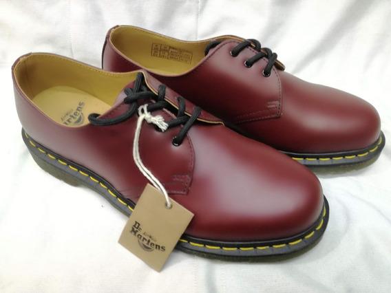 Dr Martens Zapato Vintage 1461 Vino