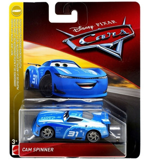 Auto Cars Cam Spinner Mattel Original Disney Metalico