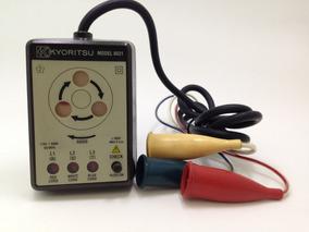 Indicador Sequência De Fases Fasimetro Usado Kyoritsu 8031