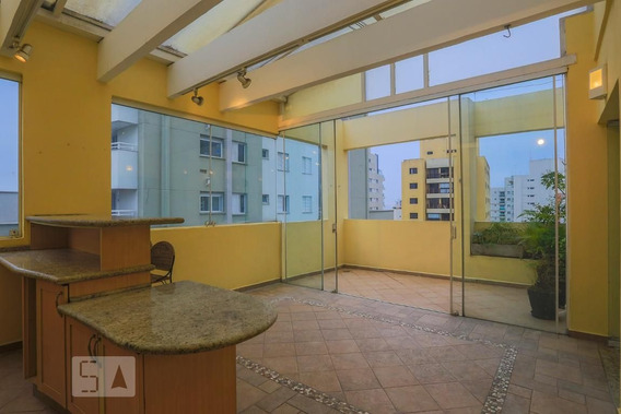 Apartamento No 13º Andar Com 2 Dormitórios E 2 Garagens - Id: 892987853 - 287853