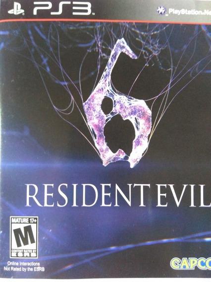 Resident Evil 6 Ps3 Original , A Pronta Entrega