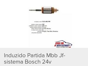 Induzido Jf Sistema Bosch 24v